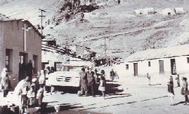En Colquiri, Bolivia