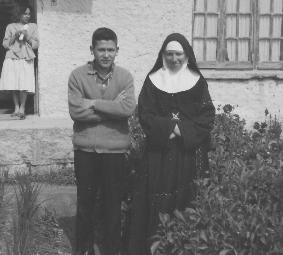 Hermana Marta y catecúmeno