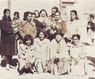 Hermana Nelly Metetieri y amigas bolivianas