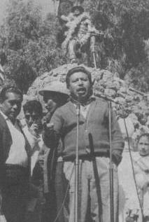 Dirigente sindical minero Federico Escobar